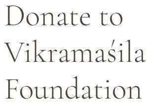 Khenpo Pema Wangdak - Vikramasila Foundation