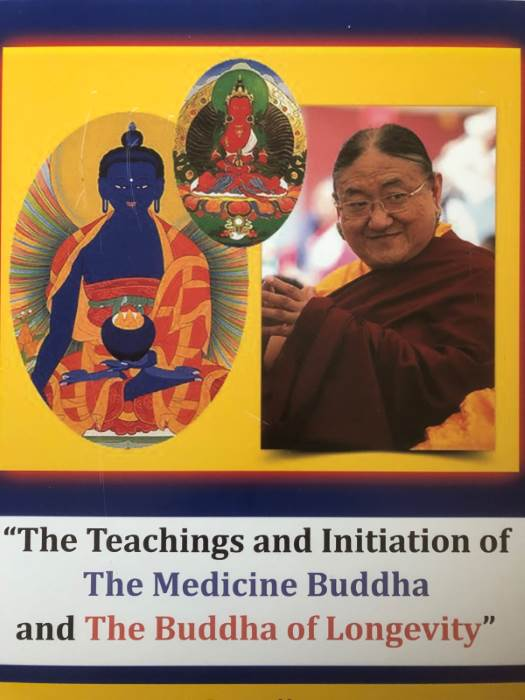 Sakya Trichen - The Teachings and Initiation of The Medicine Buddha and The Buddha of Longevity